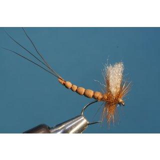 braune Maifliege mit Extended Body