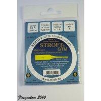 Stroft GTM Vorfach Monofil 3,75m 3X - 0.54mm-0,20mm -...