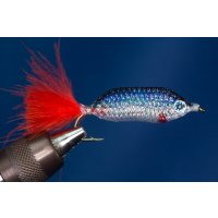 Weißfischchen Blau lang
