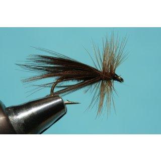 Entenflaum Sedge braun gefärbt