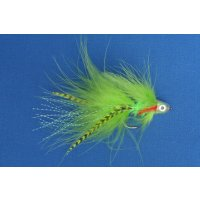 Chartreuse Marabou Streamer Nr. 1