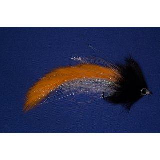 Raubfischzonker Orange/Schwarz