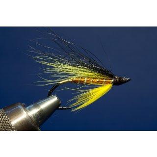 Toms orange Steelhead Fliege