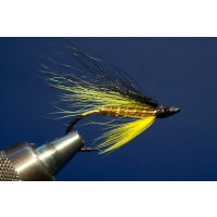 Toms orange Steelhead Fliege