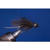 Steinfliege schwarze - Stonefly - Trockenfliege 10