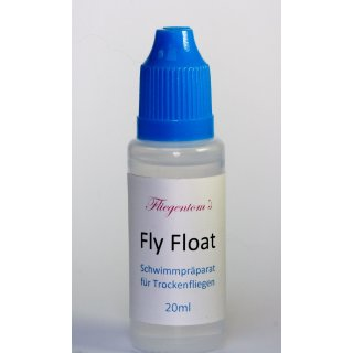 Fliegentoms Fly Float - Schwimmmittel - Imprägnierung für Fliegen