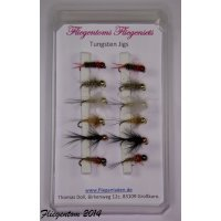 Fliegenset Tungstenjigs - Nymphen 12
