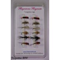 Fliegenset Tungstenjigs - Nymphen 14