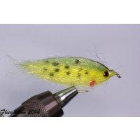 Fischchen gelbgrün - glänzend