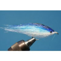 Fischchen blaue Flamme - glänzend