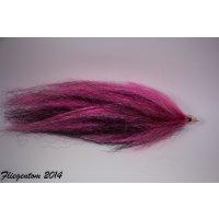 Riesenstreamer Nr. 2 - Hot Pink & Black 18-20cm -...