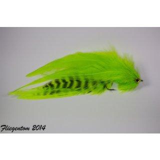 Hechtstreamer / Raubfischstreamer Nr.30 - Chartreuse