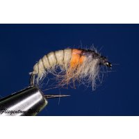 Czech Nymph  Nr.54 creme/orange