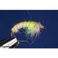 Czech Nymph  Nr.59 creme/chartreuse/beige