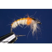 Czech Nymph  Nr.60 creme/orange/beige