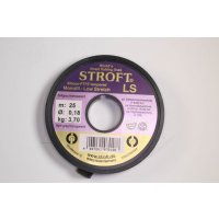Stroft LS Tippetmaterial 25m 0,16mm/3kg