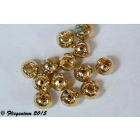 Tungstenperlen Gold 2mm