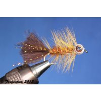 Fishmask Wooley Bugger braun