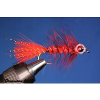 Fishmask Wooley Bugger rot grizzly