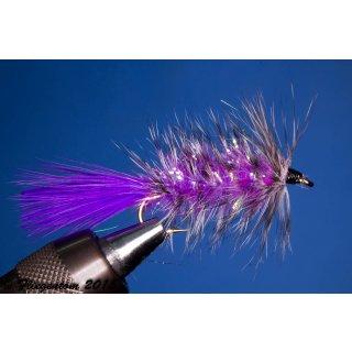 Wooley Bugger violett Krystal