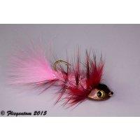 Wooley Bugger Koppe - pink, Krystal #4 - ca. 6,5cm