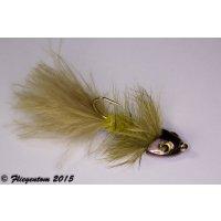 Wooley Bugger Koppe - oliv #6 - ca. 5cm