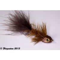 Wooley Bugger Koppe - braun #4 - ca. 6,5cm
