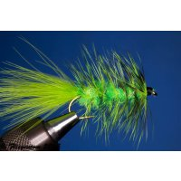 Wooley Bugger chartreuse 6 ohne Widerhaken