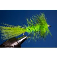 Wooley Bugger chartreuse 4 ohne Widerhaken