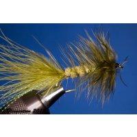 Wooley Bugger oliv 10 ohne Widerhaken