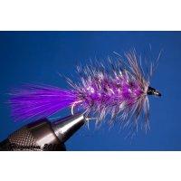 Wooley Bugger violett Krystal 8 mit Widerhaken