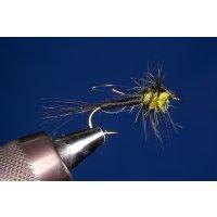 UV-Montana Nymphe gelb 12 mit Widerhaken