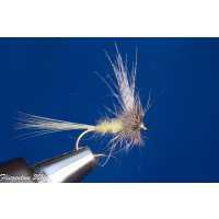 No Hackle light olive Dun