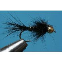 schwarze, lange Hasenohrnymphe