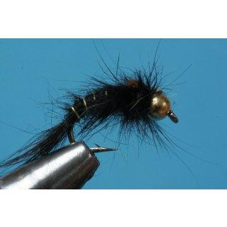 schwarze, gebogene Hasenohrnymphe