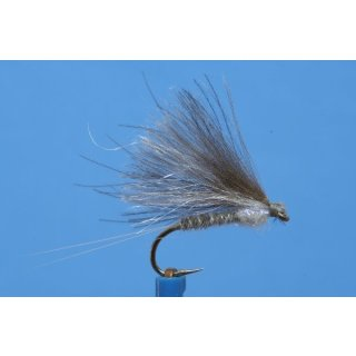 graue CDC F-Dun, Fratnik Fly, mit UV-Thorax
