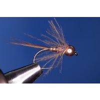 Kurze CDC-Nymphe Nr. 31 12 ohne Widerhaken Tungsten...