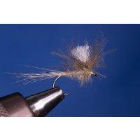 Märzbraune CDC Parachute  ohne Widerhaken 12