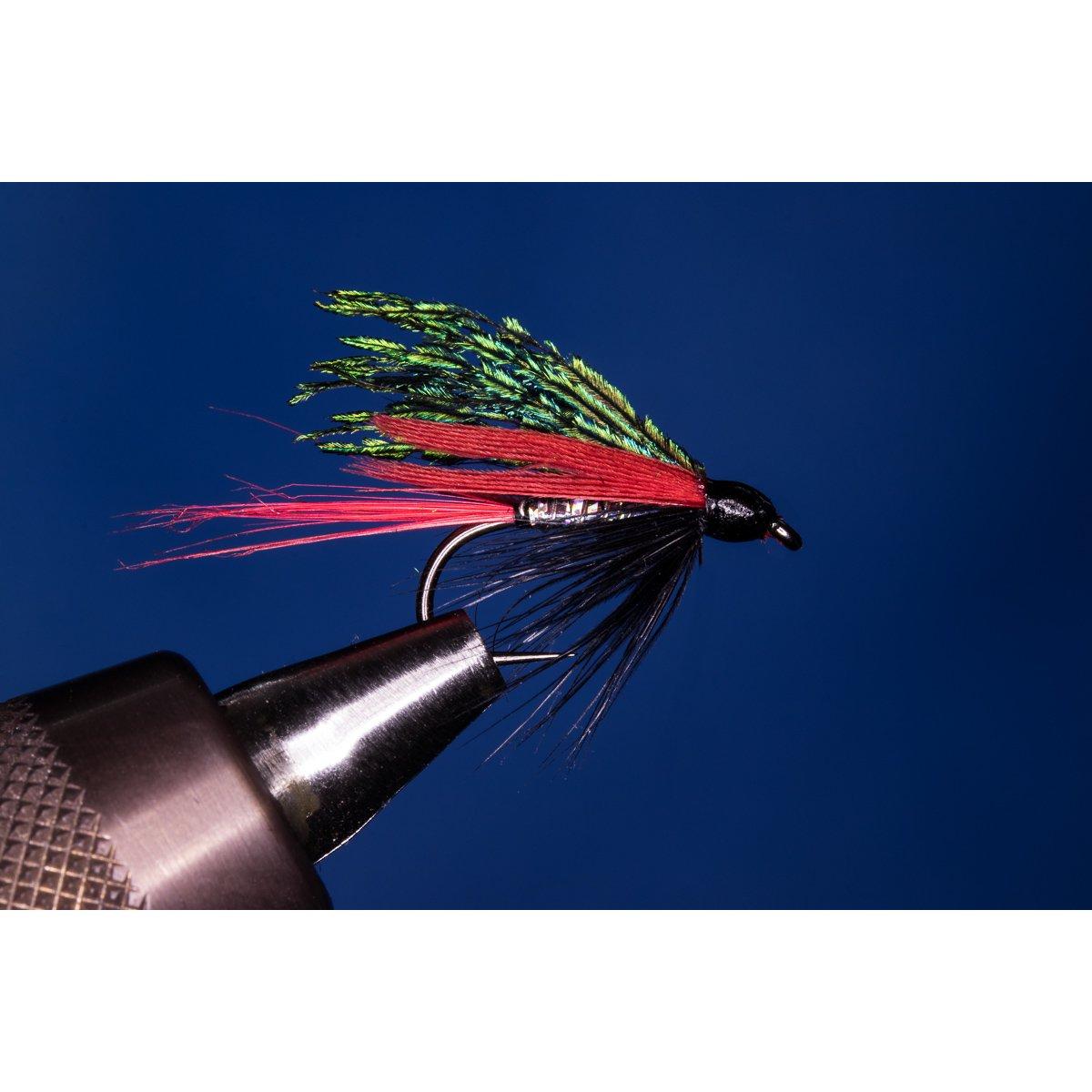 Fliegentom Nassfliege 3 Stück UV-rot Spider