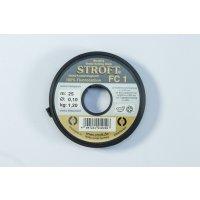 Stroft FC1 Fluorocarbon Tippetmaterial 25m 0,16mm 4X - 2,5kg