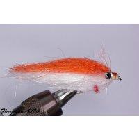 Fischchen rot/weiß glänzend