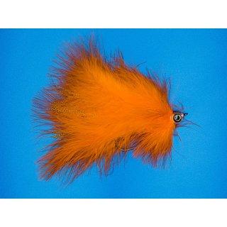 Großer Marabou Hechtstreamer orange
