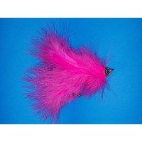 Großer Marabou Hechtstreamer pink