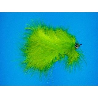 Großer Marabou Hechtstreamer chartreuse